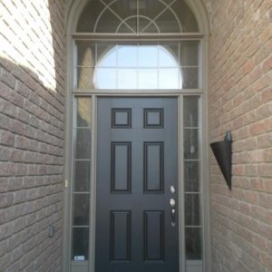 Front Entrance System – Before