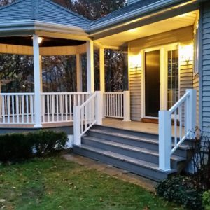 Railing and decking